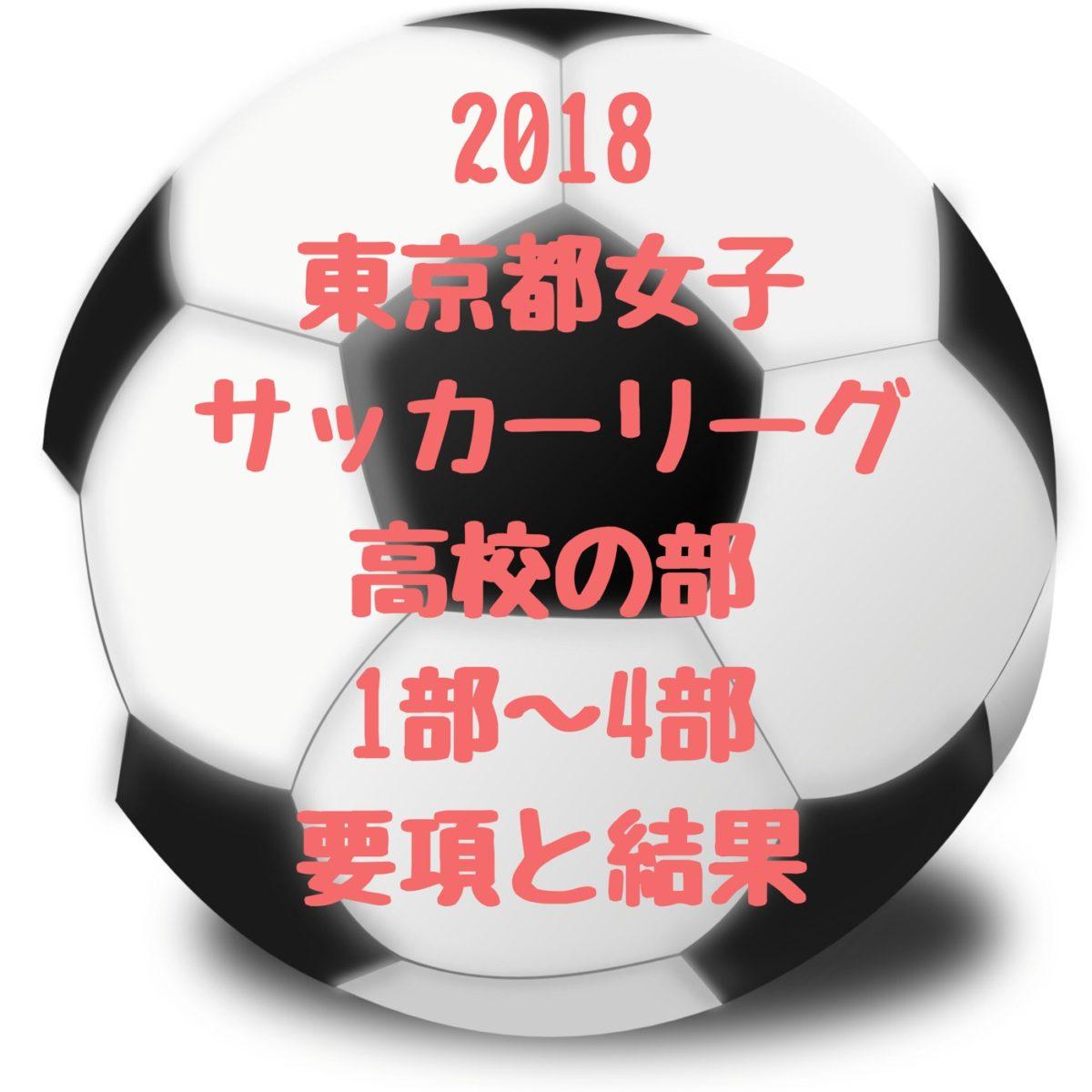 2018東京女子サッカーリーグ