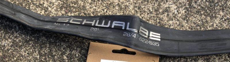 シュワルベ700×38cタイヤチューブ