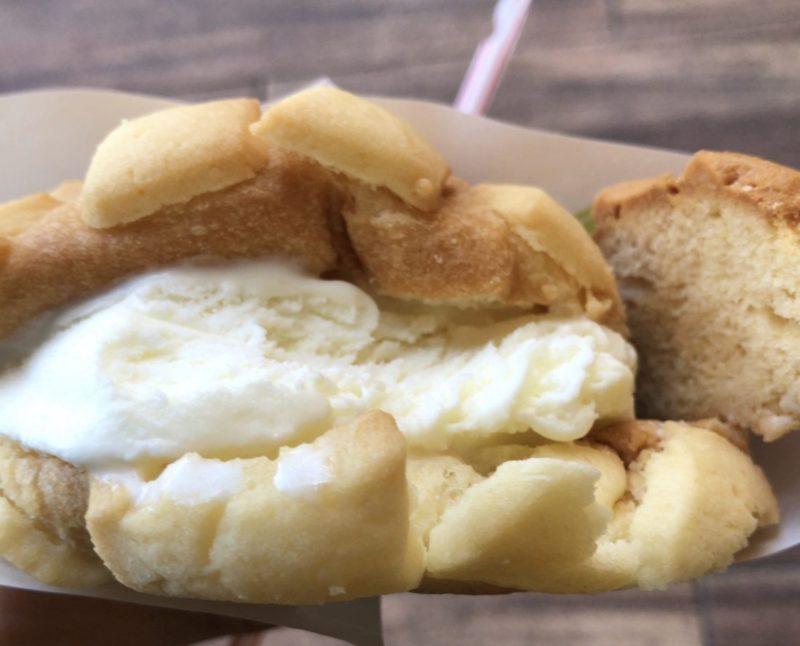 世界で2番めに美味しいメロンパンアイス