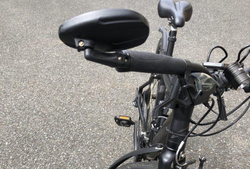 クロスバイクミラー