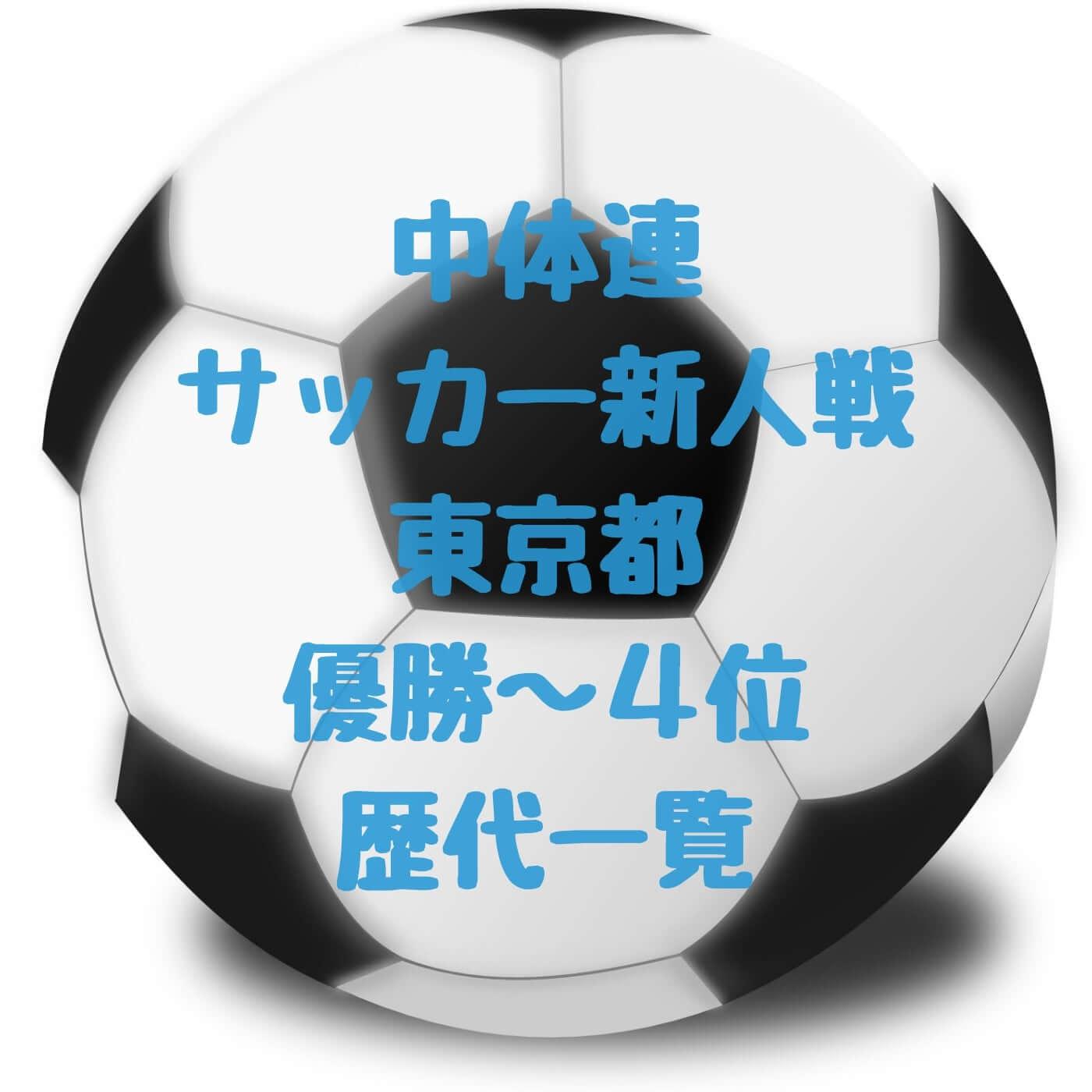 中体連サッカー新人戦東京