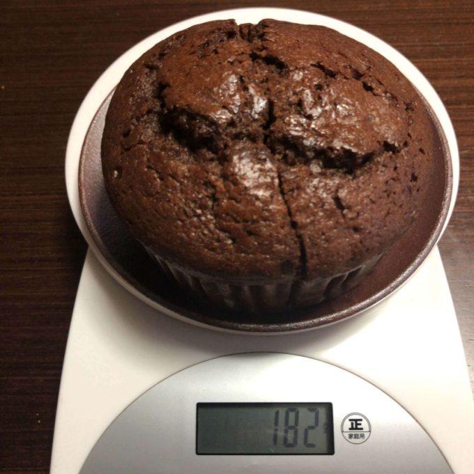 コストコチョコレートチップマフィン重さ
