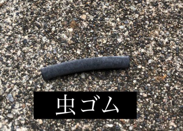 虫ゴム画像