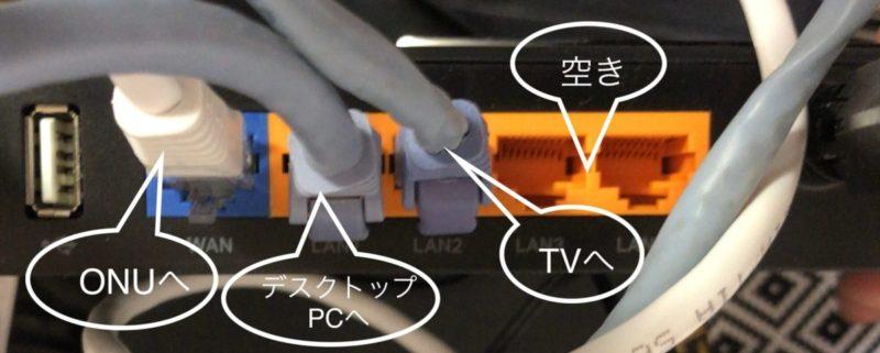 TPリンク接続