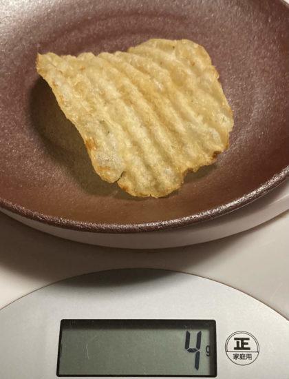 ケトルチップス1枚カロリー